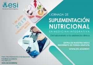 I Jornada de Suplementación Nutricional en Medicina Integrativa