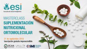 MASTERCLASS DE SUPLEMENTACIÓN NUTRICIONAL ORTOMOLECULAR