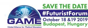 El «2019 GAME FUTURIST FORUM» reunirá a representantes del campo de la educación médica y la salud