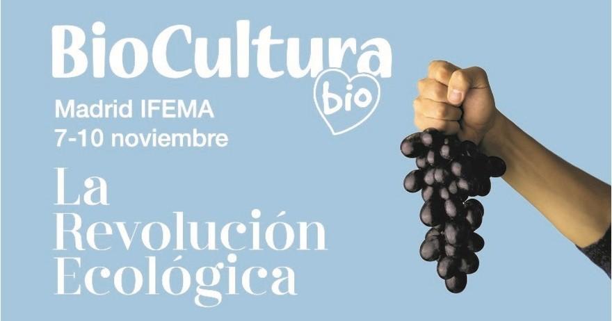 BioCultura Madrid se celebra del 7 al 10 de noviembre en IFEMA