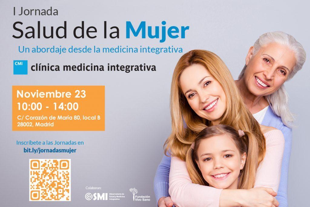 El Observatorio de Salud y Medicina Integrativa colabora en la I Jornada: Salud de la Mujer. Un abordaje desde la medicina integrativa