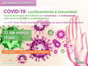 COVID-19, confinamiento e inmunidad: webinario del director del Observatorio