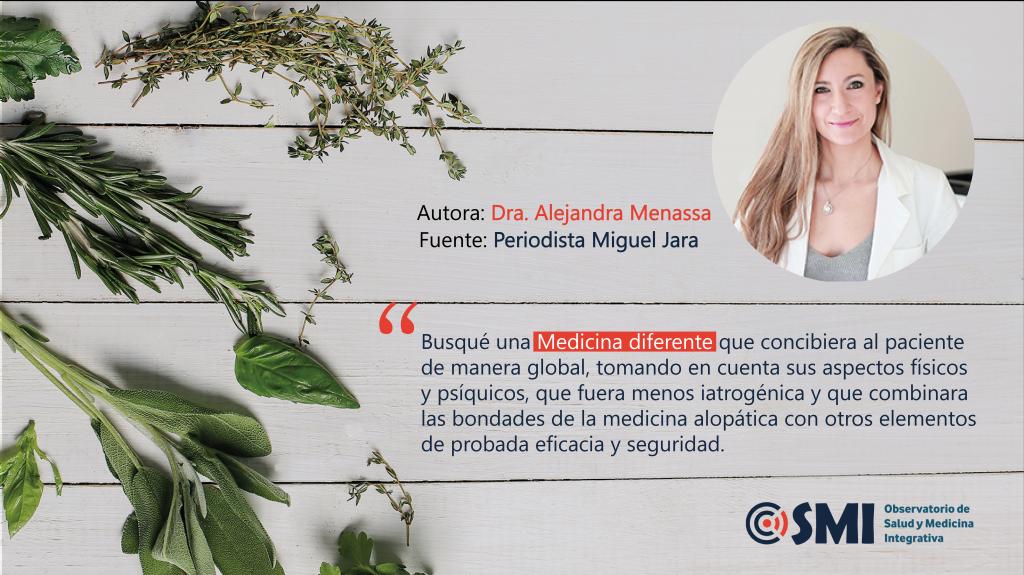 La Dra. Alejandra Menassa explica qué es la Medicina Integrativa y qué es OSMI