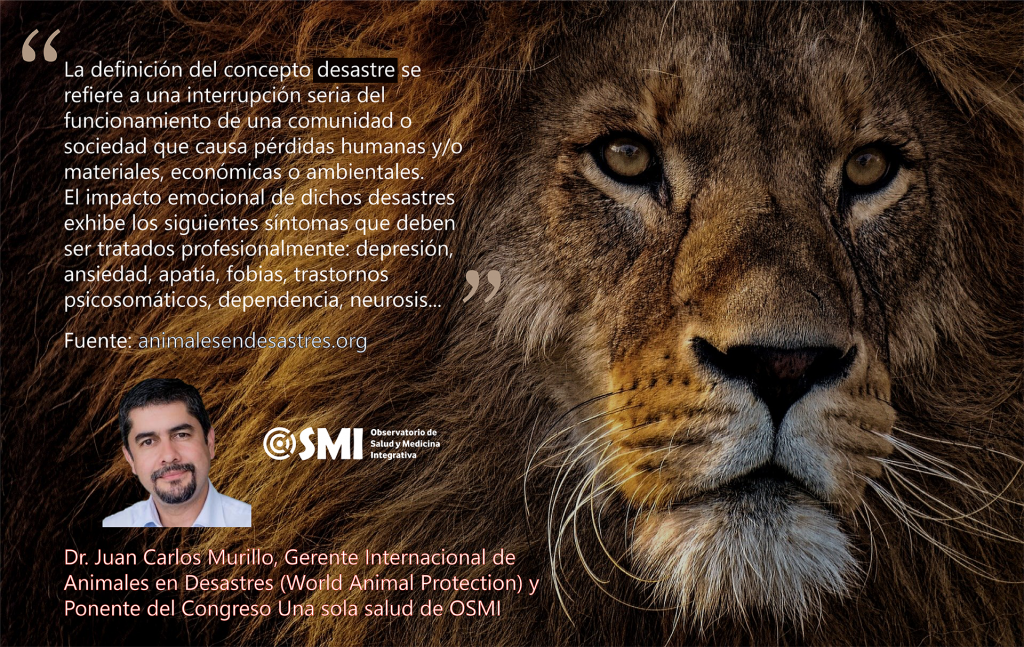 «El impacto emocional de los desastres exhibe síntomas que deben ser abordados y tratados profesionalmente». Dr. Juan Carlos Murillo