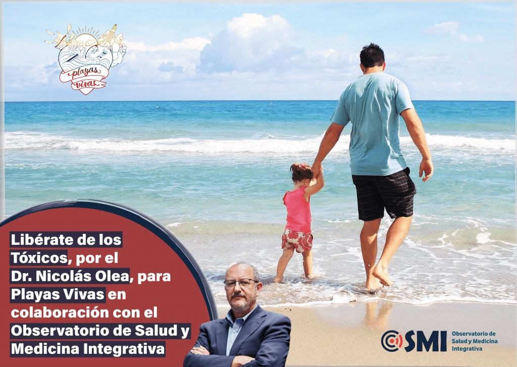El Dr. Nicolás Olea ofrece una charla gratuita bajo el título «Libérate de los tóxicos» en colaboración con «Playas Vivas» y el Observatorio de Salud y Medicina Integrativa